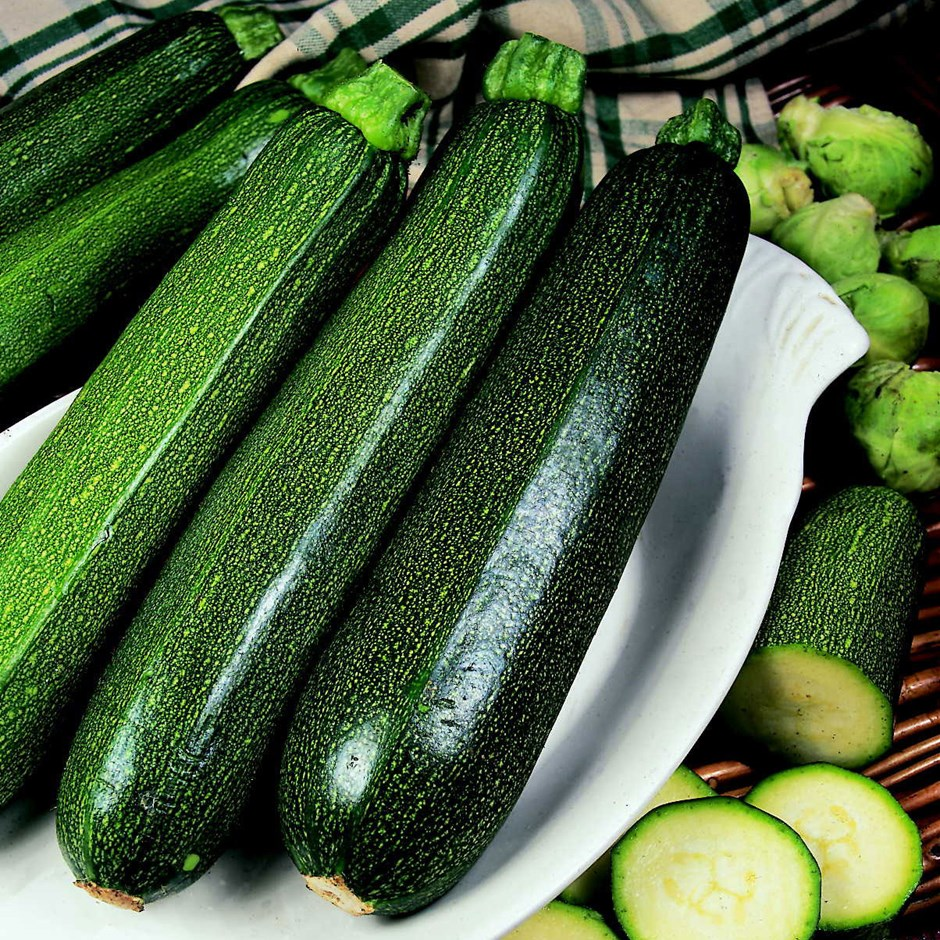 Image of cucumber and courgette