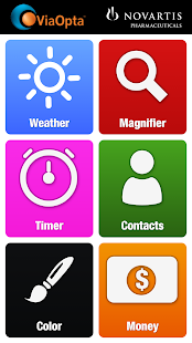 image of personalised home screen on the viaoppta dadily app